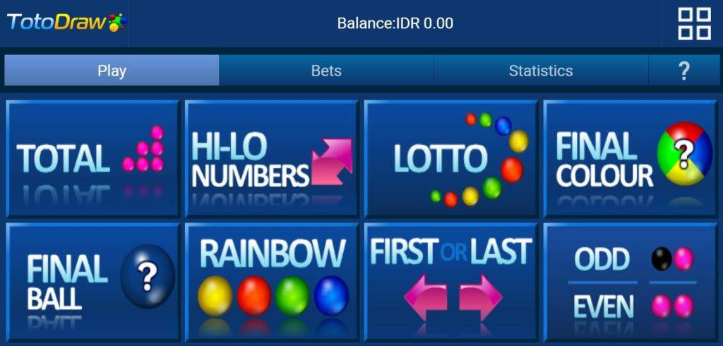 Situs Main Toto Draw Online