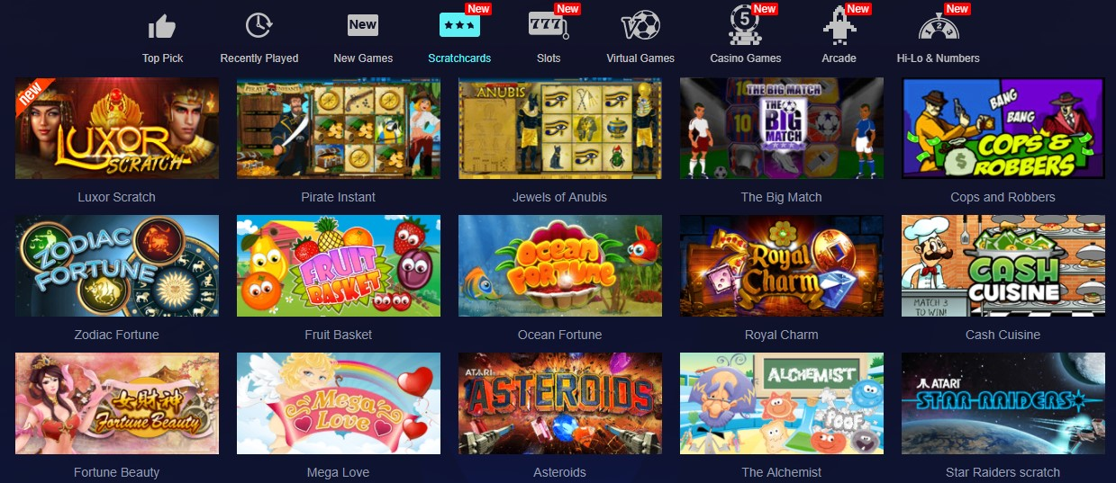 slot online scratchcards